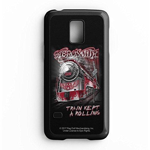 Hamilton Abdeckung (Offizielles Lizenzprodukt Aerosmith - Train Kept A Rolling Handyhülle, Schutzhülle; Samsung S5 Mini)