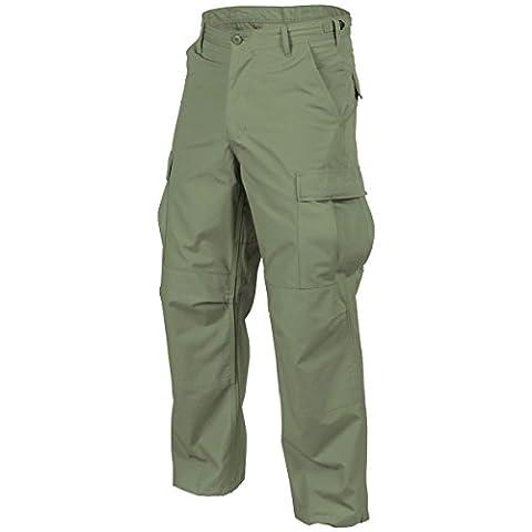 Helikon Genuine BDU Trousers Polycotton Twill Olive Green size L Reg