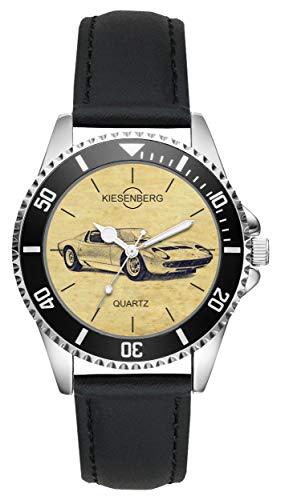 Regalo Lamborghini Miura P 400 Coche Antiguo Fan Conductor Kiesenberg Reloj L-6374