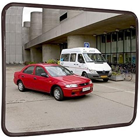 specchio di sorveglianza convesso standard, 40 x 60 cm