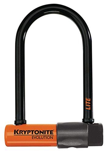Kryptonite Kryptonite - Evolution Lite Mini 6 - Verschluss mit Griff, schwarz/ orange EVOLUTION Lite Mini 6, schwarz/ orange, Universal, 001447_KRY