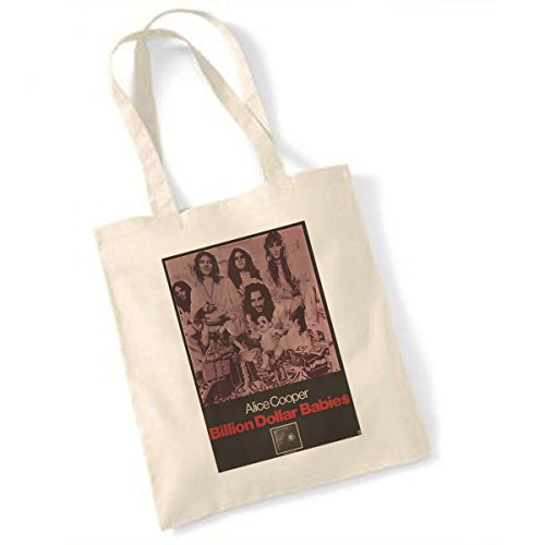 Price comparison product image Alice Cooper Billion Dollar Babies Natural Tote Bag