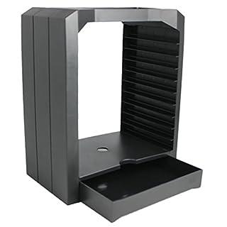 Foxom Storage Tower Ständer für CD, DVD, Xbox One,PS4 Spiele Disc Zubehör