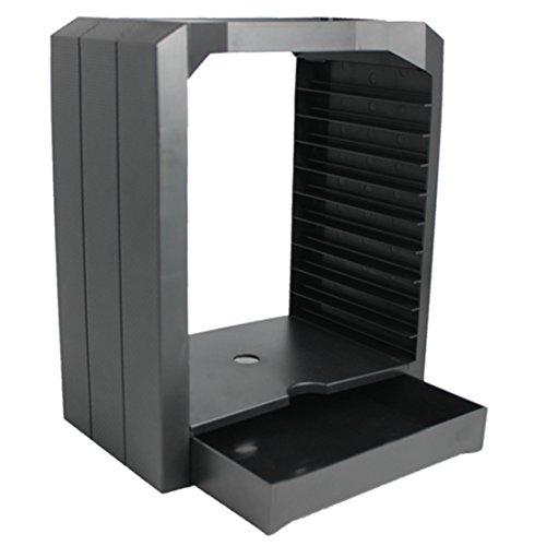 Foxom storage tower porta per cd, dvd und xbox one/ps4 disco