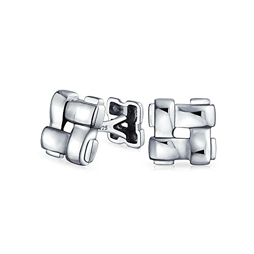 bling-jewelry-sterling-silver-woven-square-double-faced-cufflinks