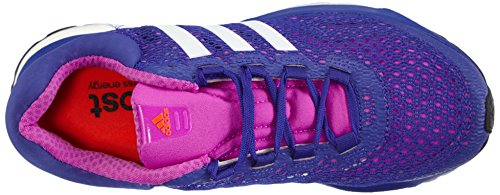 Adidas Performance Response Boost, Chaussures de Running Femme Violet (flash Pink S15/ftwr White/night Flash S15)