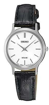 Seiko-Reloj de pulsera analógico para mujer cuarzo piel sup299p1 de Seiko