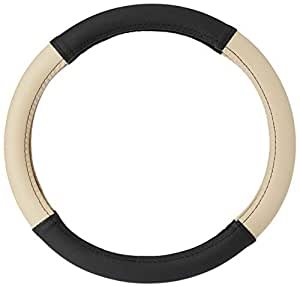 Amazon Brand - Solimo Steering Cover (Large), Beige