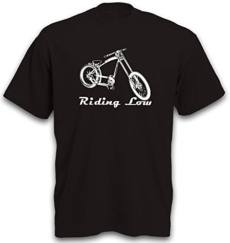T-Shirt Lowrider Beachcruiser Fahrrad BMX Mountainbike Shirt Gr. XXL
