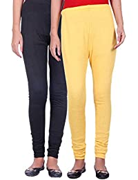 Belmarsh Warm Leggings - Pack of 2 (Black_Yellow)