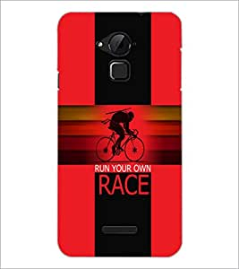 PrintDhaba Quote D-5947 Back Case Cover for COOLPAD NOTE 3 LITE (Multi-Coloured)