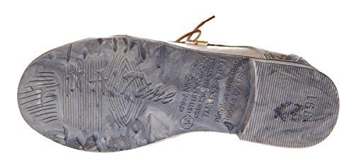 TMA , Chaussures à lacets et coupe classique femme Blanc - Weiß Creme