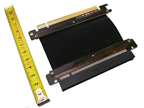 Semi Rigida, Con 16x PCIe riser alluminio Shield - Flex Riser