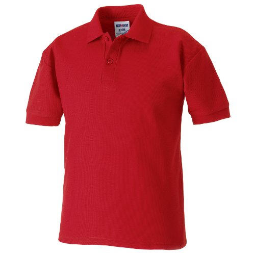 Jerzees Schoolgear Kinder Pikee Polo Shirt Flaschengrün