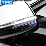 #8: Miss Beauty New Carbon Fiber Rearview Mirror AntiRub Strips Protector for BMW E90 E60 F30 F34 F10 F20 X1 X3 X4 X5 X6 Car AntiCollision Strip