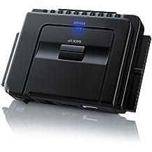 Aplic - USB 3.0 a IDE e SATA Converter Hard Drive Adattatore | Universale 2.5/3.5/5.25 Drives unità ottica | Includi PC Clone Ex Lite backup e ripristino del software | con alimentazione 12V / 2A