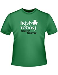 St. Patrick´s Day T-shirt - Irish today, hungover tomorrow, Herren T-Shirt