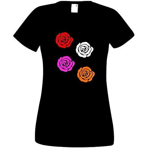 Steefshirts - Camiseta - para mujer