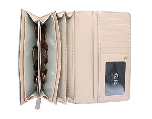 Tula liscio ORIGINALS donna in pelle borsa con contrasto interiore 7649 Mouse Mouse
