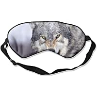 Go Wolf 99% Eyeshade Blinders Sleeping Eye Patch Eye Mask Blindfold For Travel Insomnia Meditation preisvergleich bei billige-tabletten.eu
