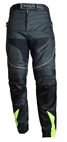Bangla 2152 Motorrad Hose Tourenhose Herren Textil Cordura 600 schwarz neongelb XXXL