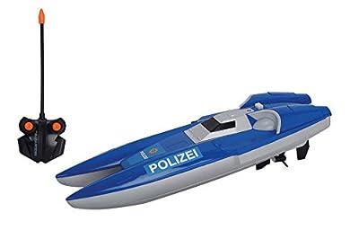 Dickie Toys 201119419039 RC Polizei Boot, Rtr von Simba-Dickie