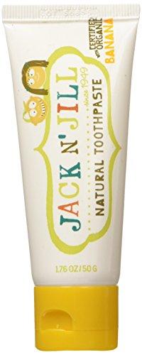 Jack N' Jill Natural Calendula Toothpaste Banana