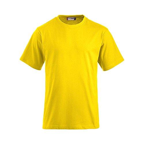 Clique - T-Shirt 'Classic-T' - bis Gr. 6XL zitrone (10)