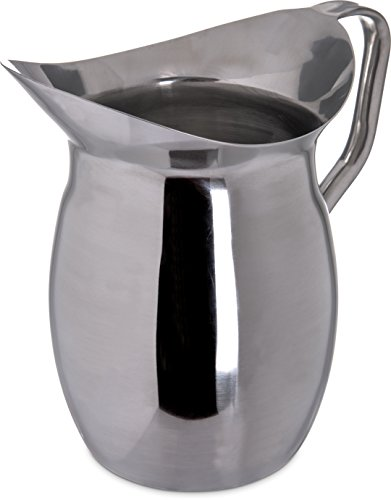 Carlisle Bell (Carlisle 609273 2.8l Stainless Steel Bell Pitcher)