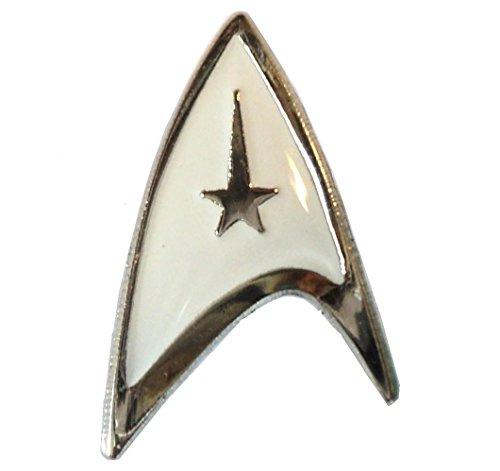 arfleet Insignia White Logo Delta Shield Emaille-Abzeichen 20 mm ()