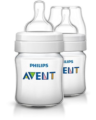 Philips Avent SCF560/27 Anti-Kolik Klassik+ Flasche, 125ml, transparent, Doppelpack