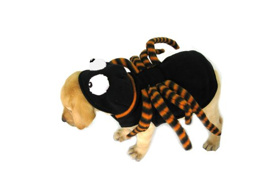 Hund Kostüm. Spider mit langen Beinen und großen Augen. Größe 50,8cm (Spider Kostüme Für Den Hund)