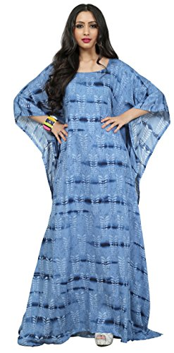Justkartit 2017 Printed Night Wear Kaftans / Casual Daily Indian Ethnic Wear Ladies Kaftans 2017
