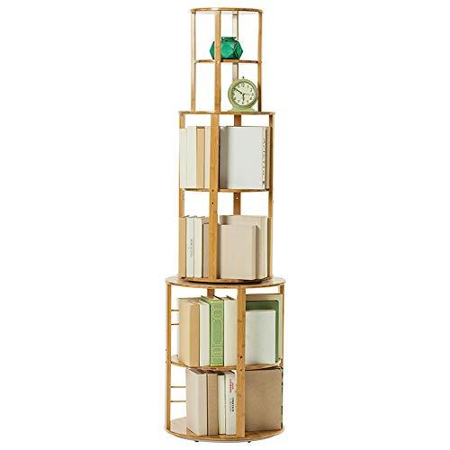 Bambus 360 ° einfache mehrschichtige Boden lagerregal 50 * 175cm ()