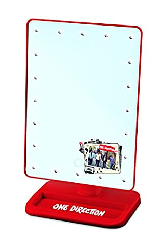 "One Direction ""What Makes You Beautiful"" Lighted Cosmetic Viewing Mirror - Give Yourself an Amazing Makeover with New Hair & Makeup"