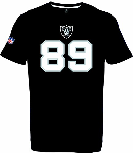 NFL Football T-Shirt Oakland Raiders Amri Cooper #87 Black (M)