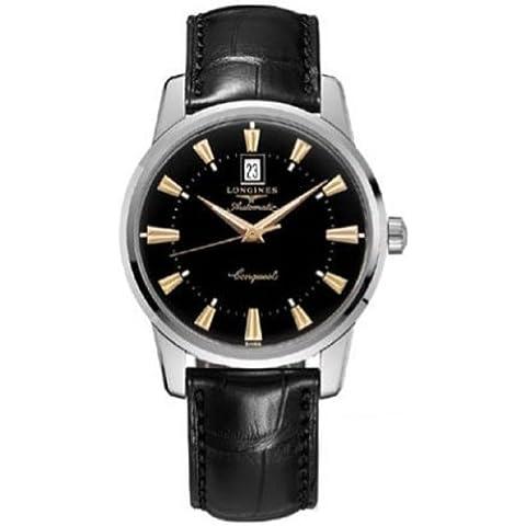 Los relojes Longines Conquest de patrimonio de la humanidad de los hombres de la colección de Longines automático con el