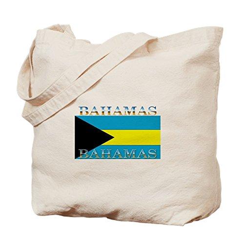 CafePress–Bahamas Bahama Flagge–Leinwand Natur Tasche, Reinigungstuch Einkaufstasche (Bahamas-flagge T-shirt)