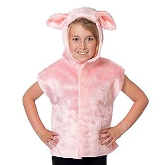 Déguisement Cochon pour les enfants. Taille unique 3-9 ans.