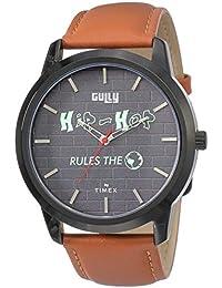 Gully by Timex Hip-hop Analog Grey Dial Men's Watch-TWEG15023