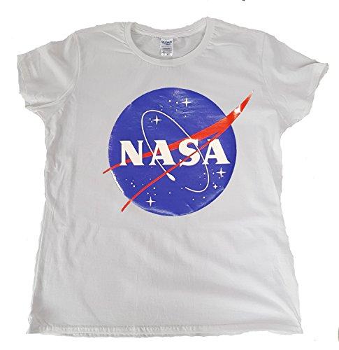 Toykoshi NASA - Camiseta para Mujer, Logo Meatball, Cuello Redondo, Oficial (GTP)...