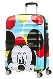 American Tourister - Disney Wavebreaker - Spinner Kindergepäck, 67 cm, 64 L, Mickey Close-Up