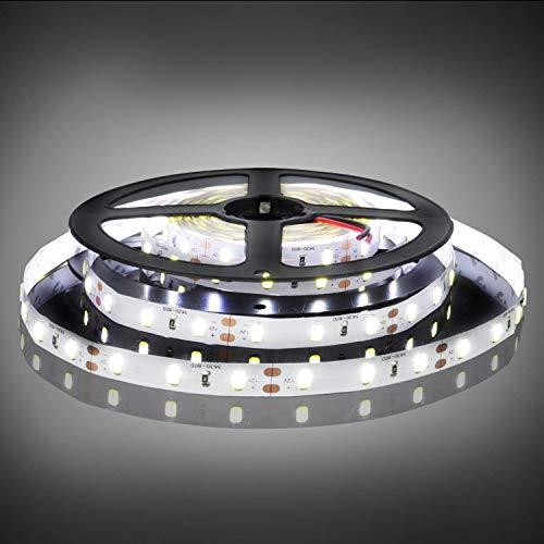 BOGAO 5M LED Strip Lights 300 Unità SMD 5630 12V Bassa tensione striscia di luce non impermeabile IP20 LED nastro bianco nastro di illuminazione per casa cucina mobile e altro