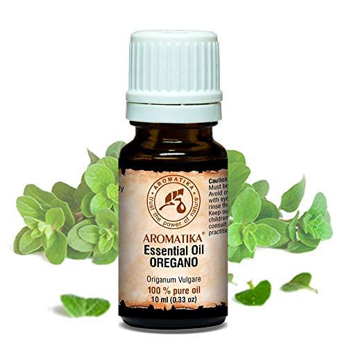 Oregano Ätherisches Öl 10ml - Origanum Vulgare - 100% Reines & Natürlich - Oreganoöl