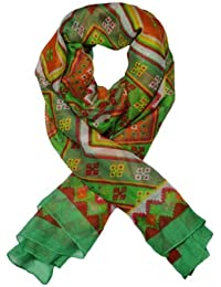 Ladies elegant and Fashionable viscose printed scarf - HARIYO DHAKA (FKSF002)