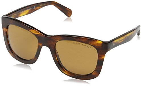bbc5e4b9350 Ralph Lauren 0Rl8137 500773 51 Montures de lunettes Marron (Stripped  Havana Brown)
