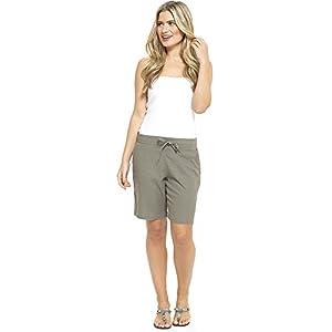 CityComfort Damen Leinen Freizeithosen Urlaub elastische Taille Damen Sommer Hosen Hosen Shorts beschnitten mit Taschen
