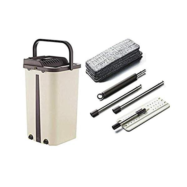 Klinkamz Dust Wizard Mop Kit di Pulizia per Pavimenti in Marmo e  Piastrelle, per Soggiorno e Cucina