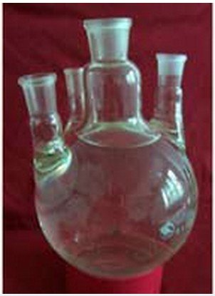 Gowe 10L, 4-necks, rund Boden Glas Fläschchen, vier Hals, 10000ml, Labor Kochendes Schiff
