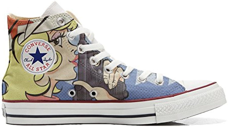 Shoes Custom Converse All Star  personalisierte Schuhe (Handwerk Produkt) Hurricane
